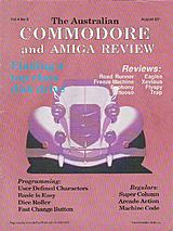 ACAR Vol 4 No 8 (Aug 1987) front cover