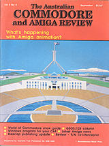 ACAR Vol 5 No 9 (Sep 1988) front cover