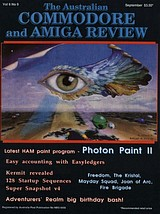 ACAR Vol 6 No 9 (Sep 1989) front cover