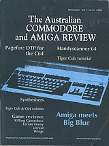 ACAR Vol 7 No 11 (Nov 1990) front cover