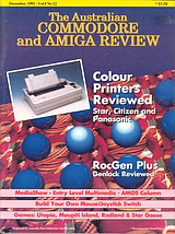 ACAR Vol 8 No 12 (Dec 1991) front cover