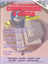 ACAR Vol 9 No 10 (Oct 1992) front cover