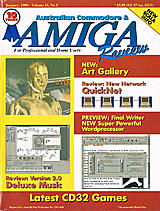 ACAR Vol 11 No 1 (Jan 1994) front cover