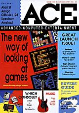 ACE: Advanced Computer Entertainment 1 (Oct 1987) front cover