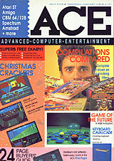 ACE: Advanced Computer Entertainment 4 (Jan 1988) front cover