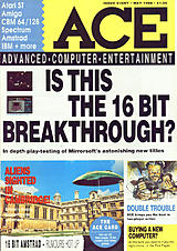 ACE: Advanced Computer Entertainment 8 (May 1988) front cover