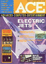 ACE: Advanced Computer Entertainment 14 (Nov 1988) front cover