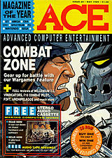 ACE: Advanced Computer Entertainment 20 (May 1989) front cover