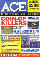 ACE: Advanced Computer Entertainment 21 (Jun 1989) front cover