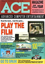 ACE: Advanced Computer Entertainment 24 (Sep 1989) front cover