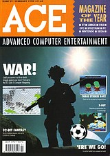 ACE: Advanced Computer Entertainment 29 (Feb 1990) front cover