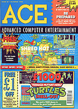 ACE: Advanced Computer Entertainment 37 (Oct 1990) front cover