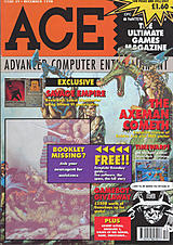 ACE: Advanced Computer Entertainment 39 (Dec 1990) front cover