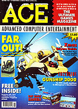 ACE: Advanced Computer Entertainment 40 (Jan 1991) front cover