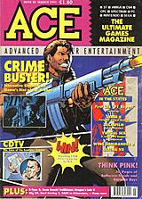 ACE: Advanced Computer Entertainment 42 (Mar 1991) front cover