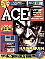 ACE: Advanced Computer Entertainment 54 (Mar 1992) front cover