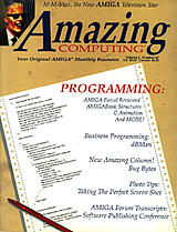 Amazing Computing Vol 2 No 10 (Oct 1987) front cover