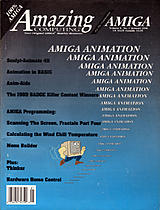 Amazing Computing Vol 5 No 1 (Jan 1990) front cover