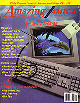 Amazing Computing Vol 7 No 3 (Mar 1992) front cover
