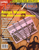 Amazing Computing Vol 7 No 10 (Oct 1992) front cover