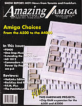 Amazing Computing Vol 8 No 2 (Feb 1993) front cover
