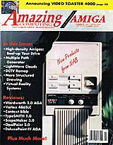 Amazing Computing Vol 8 No 7 (Jul 1993) front cover