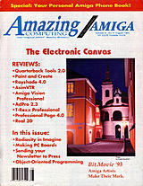 Amazing Computing Vol 8 No 8 (Aug 1993) front cover