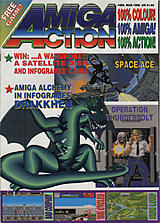 Amiga Action 6 (Mar 1990) front cover
