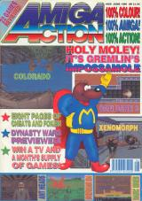 Amiga Action 9 (Jun 1990) front cover