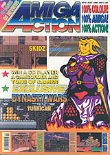 Amiga Action 10 (Jul 1990) front cover