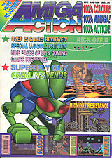 Amiga Action 11 (Aug 1990) front cover