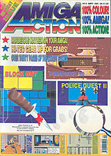 Amiga Action 12 (Sep 1990) front cover