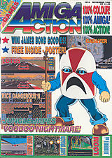 Amiga Action 14 (Nov 1990) front cover