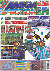Amiga Action 16 (Jan 1991) front cover