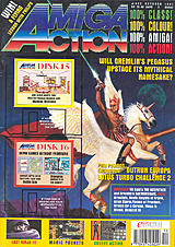 Amiga Action 25 (Oct 1991) front cover