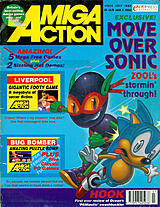Amiga Action 34 (Jul 1992) front cover