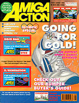 Amiga Action 35 (Aug 1992) front cover