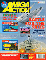Amiga Action 36 (Sep 1992) front cover