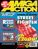Amiga Action 40 (Jan 1993) front cover
