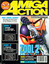 Amiga Action 47 (Aug 1993) front cover