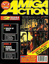 Amiga Action 50 (Nov 1993) front cover