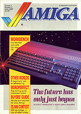 Amiga Computing Vol 1 No 1 (Jun 1988) front cover
