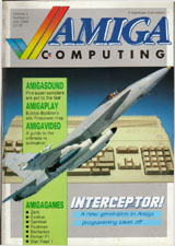 Amiga Computing Vol 1 No 2 (Jul 1988) front cover