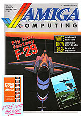 Amiga Computing Vol 1 No 9 (Feb 1989) front cover