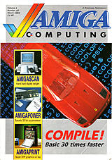 Amiga Computing Vol 1 No 10 (Mar 1989) front cover