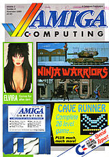 Amiga Computing Vol 2 No 6 (Nov 1989) front cover