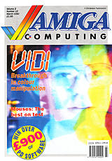 Amiga Computing Vol 2 No 10 (Mar 1990) front cover