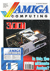 Amiga Computing Vol 3 No 1 (Jun 1990) front cover