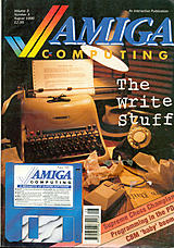 Amiga Computing Vol 3 No 3 (Aug 1990) front cover