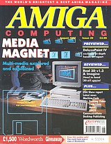 Amiga Computing 39 (Aug 1991) front cover